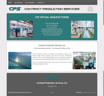 Contract Production Services